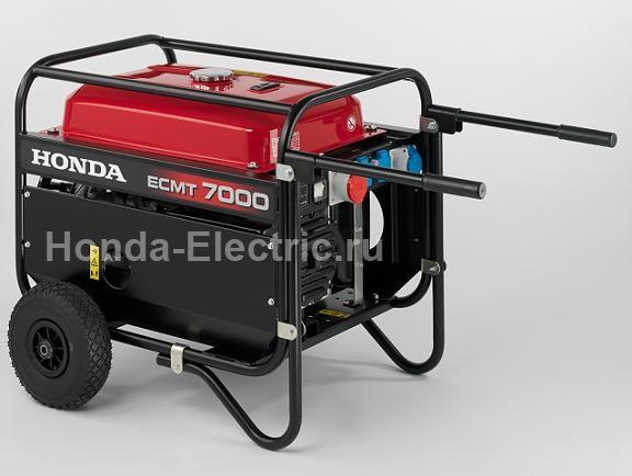бензиновый генератор honda ecmt 7000 отзывы