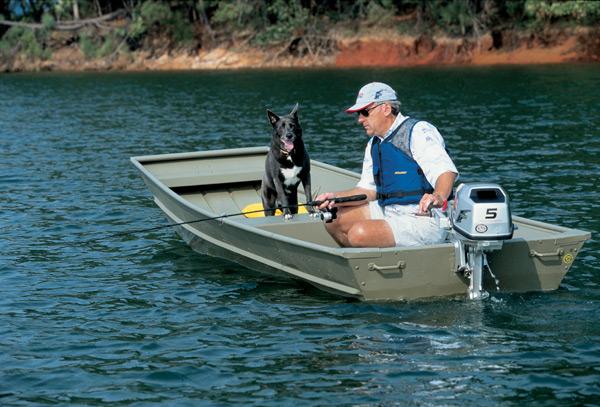 маломощные моторы лодок